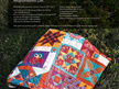 Boho Heart Booklet from Jen Kingwell Designs