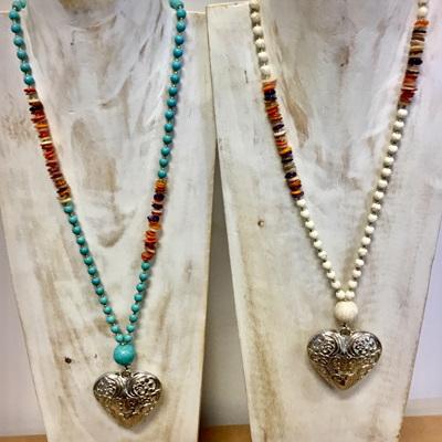 Boho Heart Necklace