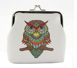 Boho Owl Coin Purse