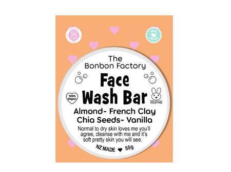 Bonbon - Almond&Vanilla Face Wash Bar