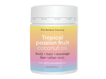 BONBON Coconut Oil Trp P/Fruit 260ml