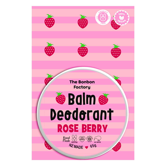 Bonbon Rose Berry Balm Deodorant