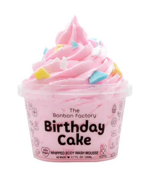 Bonbon Vegan Birthday Cake bodywash