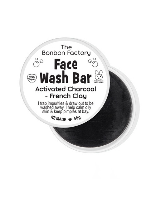 Bonbon Vegan Clay and Charcoal Facial Bar