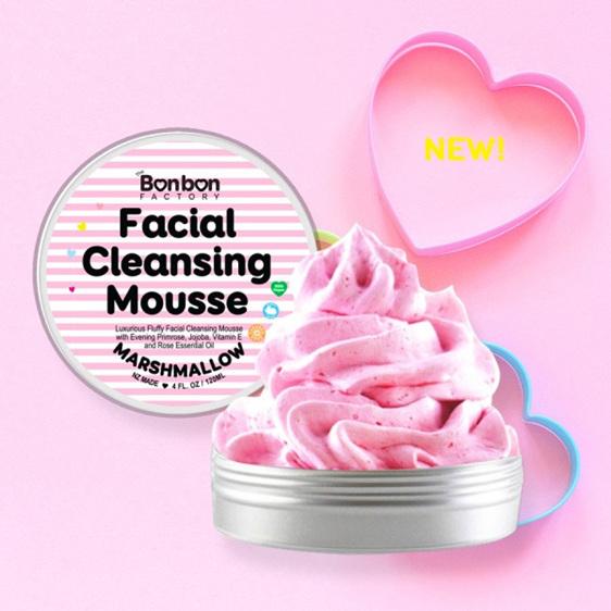 Bonbon Vegan Marshmallow Facial Mousse