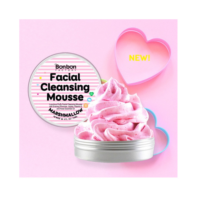 Bonbon Vegan Marshmallow Facial Mousse