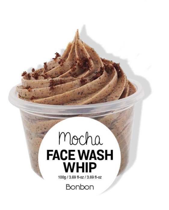 Bonbon Vegan mocha facewash whip