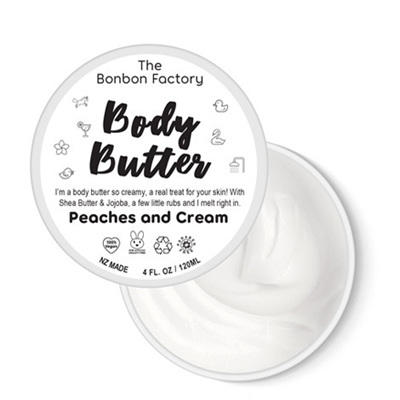 Bonbon Vegan Peaches and Cream body butter