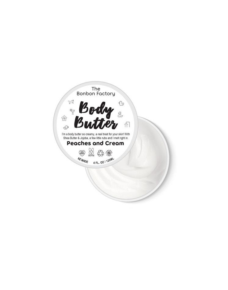 Bonbon Vegan Peaches and Cream body butter