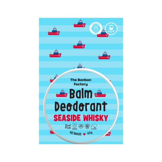Bonbon Vegan Seaside Whisky Deodorant