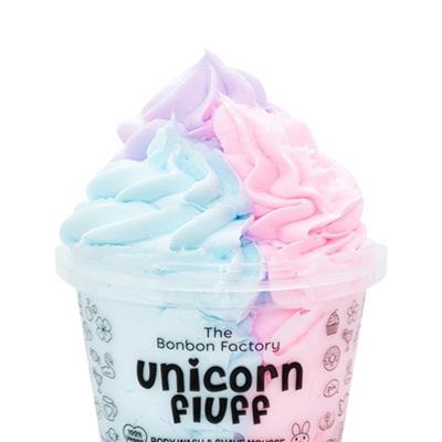 Bonbon Vegan Unicorn Fluff body wash and shave mousse