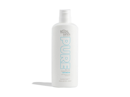Bondi Sands Pure Self Tan Foaming Water - Light/Medium 200ml