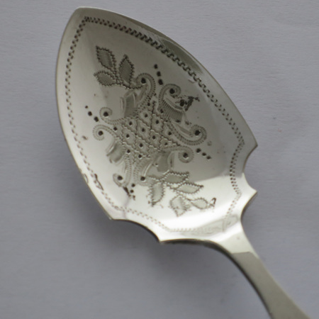 Bone handle jam spoon