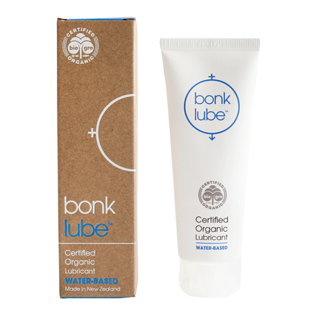 Bonk Lube certified organic water-based lubricant 75mL