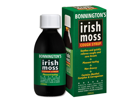 BONNINGTONS IRISH MOSS 200ml