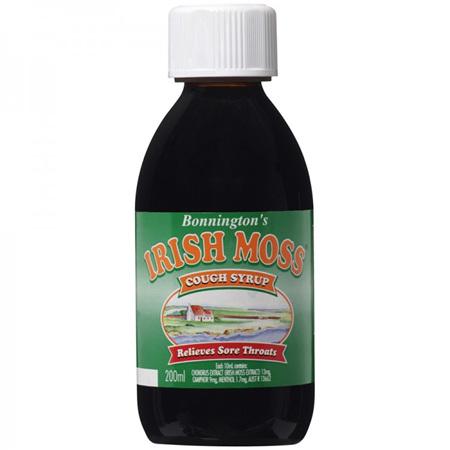 Bonnington's Irish Moss Cough Syrup 200mL