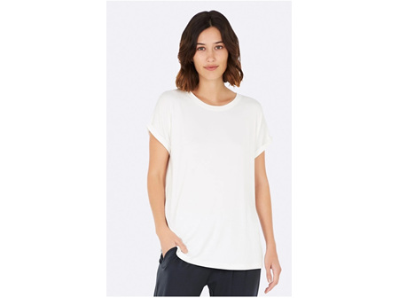 Boody Adult Lounge Top S White
