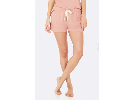 Boody Adult Sleep Shorts M Dusty Pink