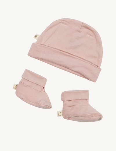 Boody Baby Beanie and Booties