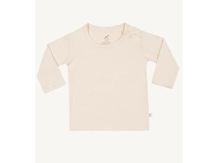 Boody Baby Long Sleeve Top Chalk 3-6m 00