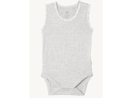Boody Baby S/L Bodysuit LGM 3-6m 00