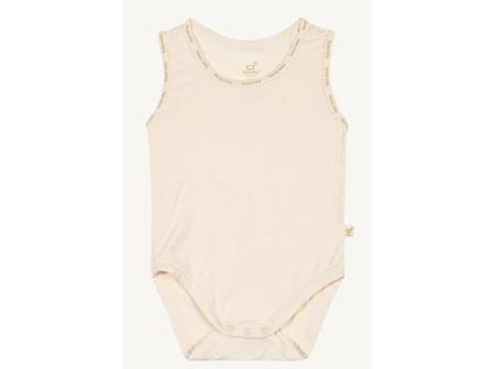 Boody Baby Sleeveless Bodysuit Chalk 6-12m 0