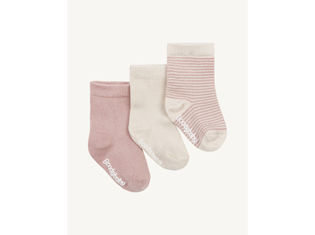 Boody Baby Socks - 3 pack (Blue or Pink)