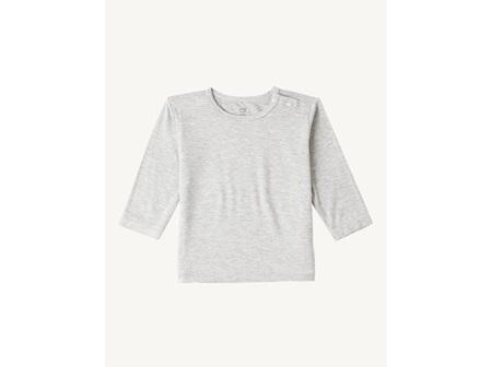Boody Long Sleeve Grey Marl 3-6Mth