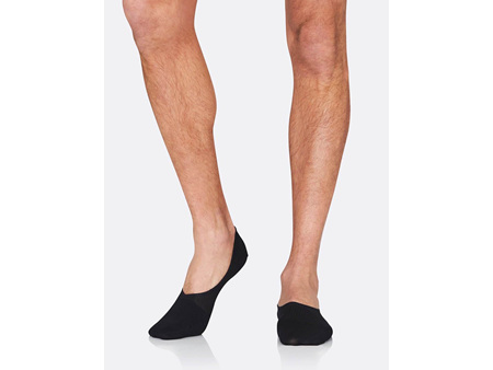 BOODY Men's Hidden Sock - Black Size 6-11