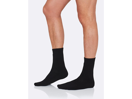 BOODY Men's Work/Boot Sock - Black Size 6-11