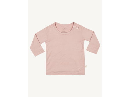 BOODY Top L/sleeve Rose 3-6mths