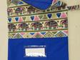 Book Bag A3 - Blue Elephant