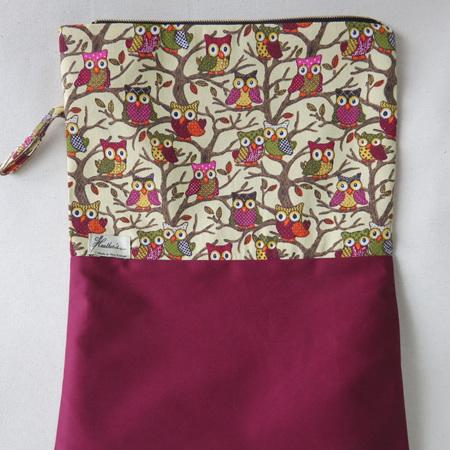 Book Bag A3 - Owl