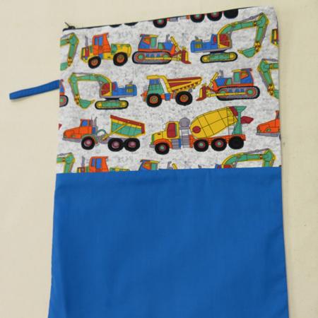 Book Bag A3 - Trucks & Diggers