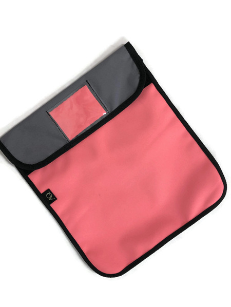 Book bag - pin/grey