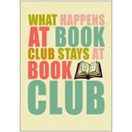 Book Club Fridge Magnet