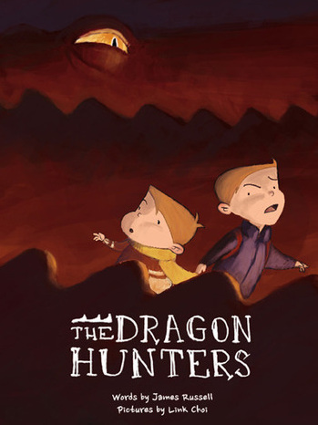 Book Dragon Hunters by James Russell