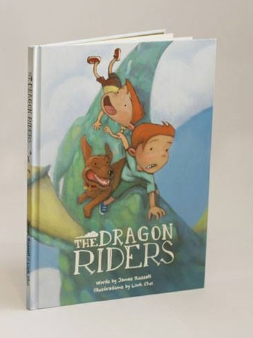 Book Dragon Riders by James Russell