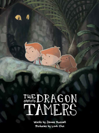 Book Dragon Tamers by James Russell
