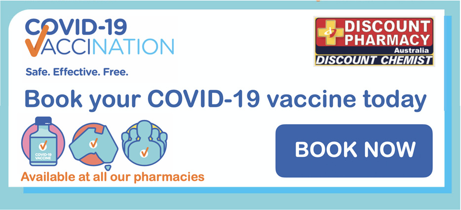 Book your COVID-19 vaccine now