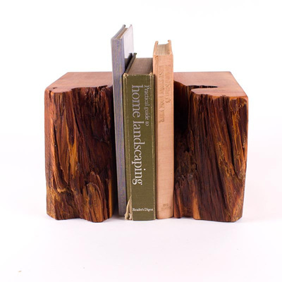 Bookends Pair Natural Edge BE004