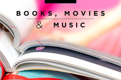 Books, Movies & Music