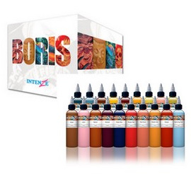 Boris from Hungary Color Pigment Series Tattoo 19 Ink set 1 oz (Back Order)