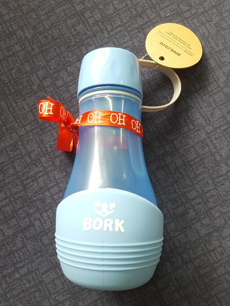 Bork Dog Bowl/Drink Bottle