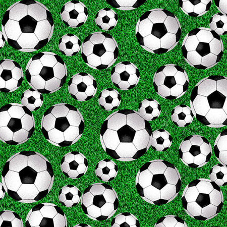 Born to Score Tossed Soccer Ball 5285-66