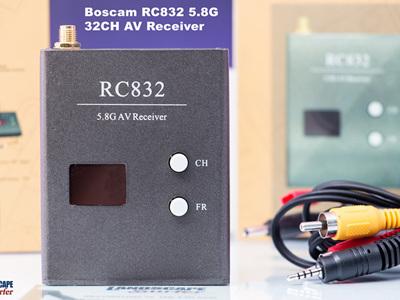 Boscam RC832 5.8G 32CH AV Receiver