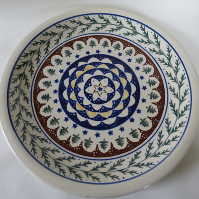 Large plate Made in Poland