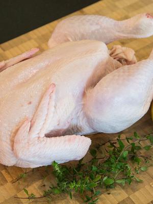 Bostocks Organic Free Range Chicken Whole Size 14 Approx 1.3-1.5kg