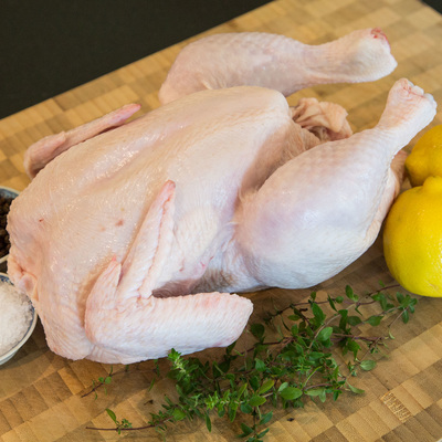 Bostocks Organic Free Range Chicken Whole Size 16 Approx 1.5-1.7kg
