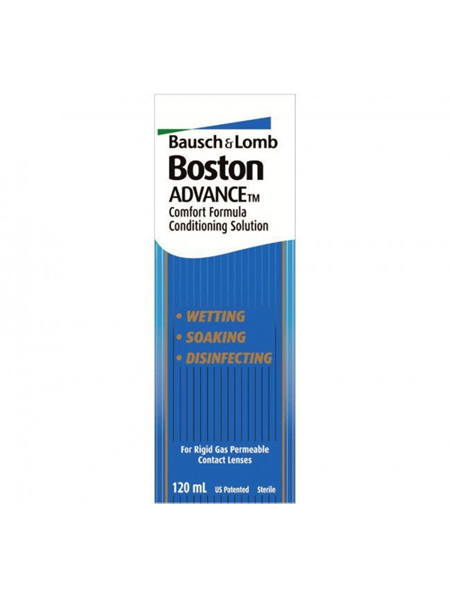 BOSTON ADVANCE CONTACT LENS COND 120ML